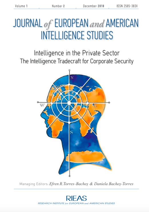 Intelligence in the Private Sector – The Intelligence Tradecraft for Corporate Security