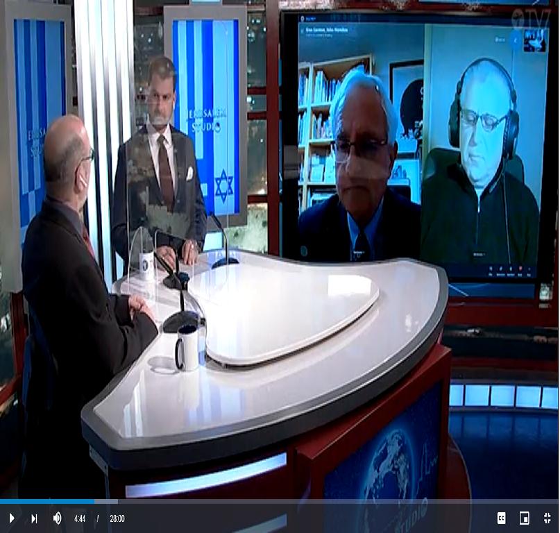 Jerusalem Studio | Israel-Greece relations and common challenges | Heaven TV7