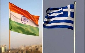 Turkey at War with Greece, India