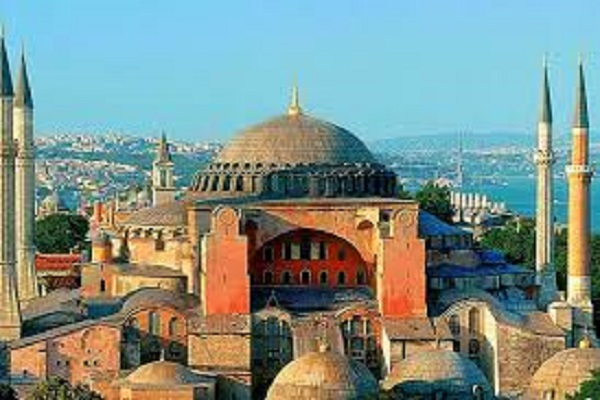 Turkish Islamic Fanaticism Desecrates Hagia Sofia
